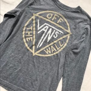 Vans Off The Wall Long Sleeve T